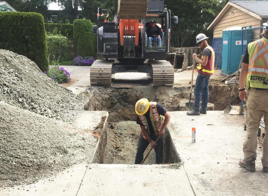 Beachborough Offsite Civil Project - 14034 North Bluff Road, White Rock