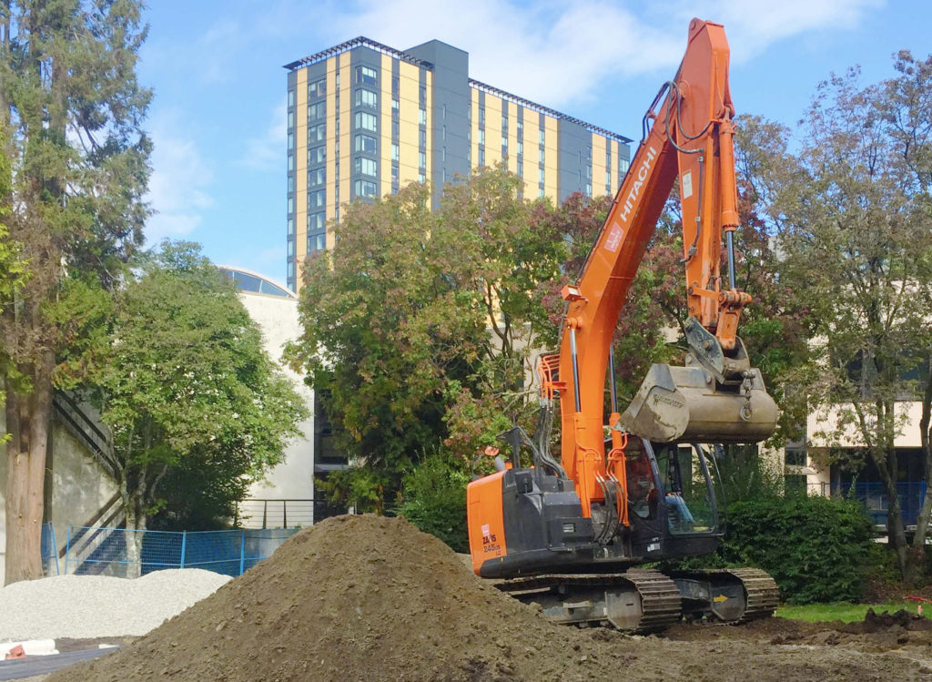 University Of British Columbia Infrastructure Project: The Counselling Service Civil Works