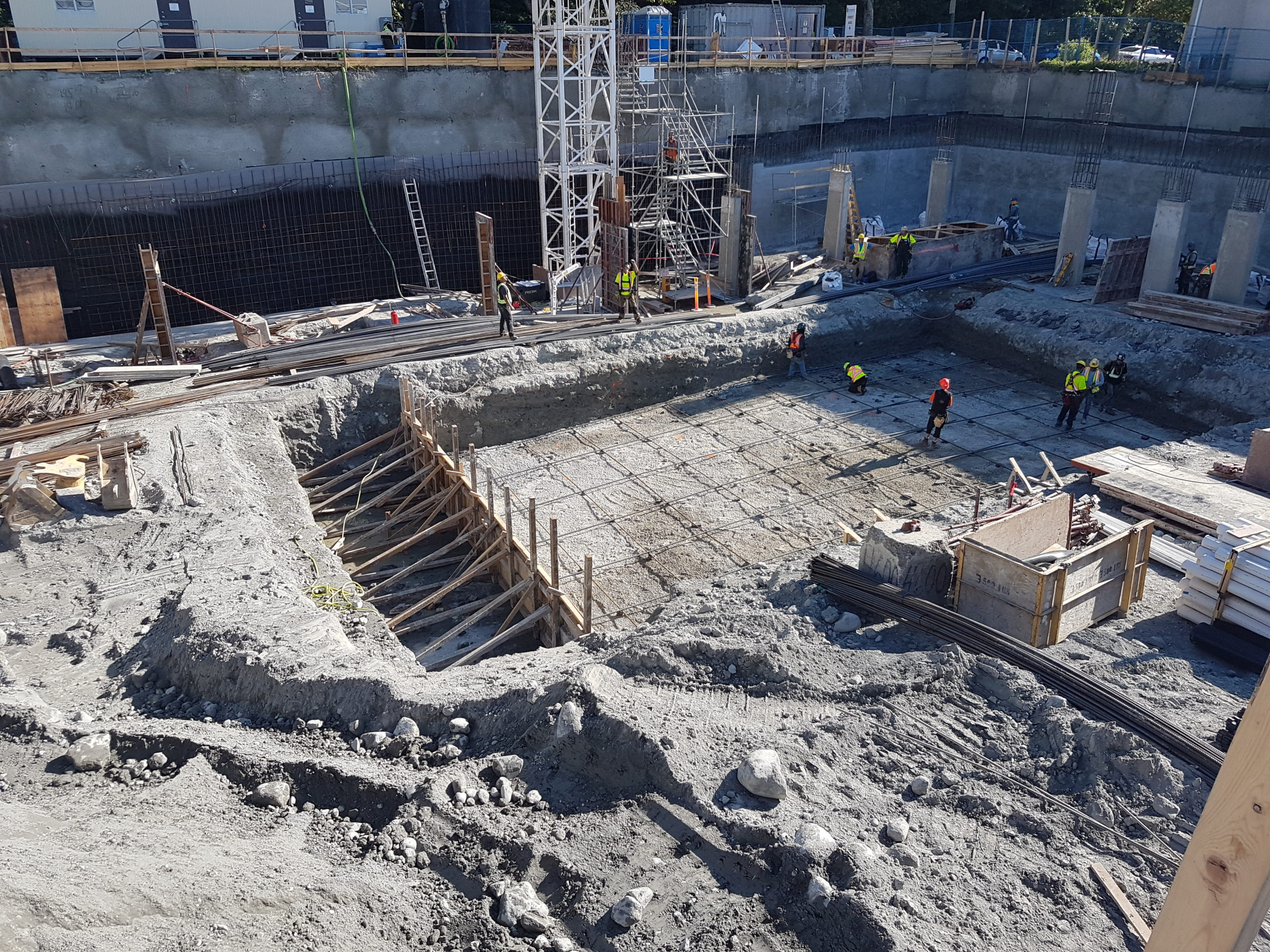 Park House Living Phase 1 & 2– Excavation and Shoring