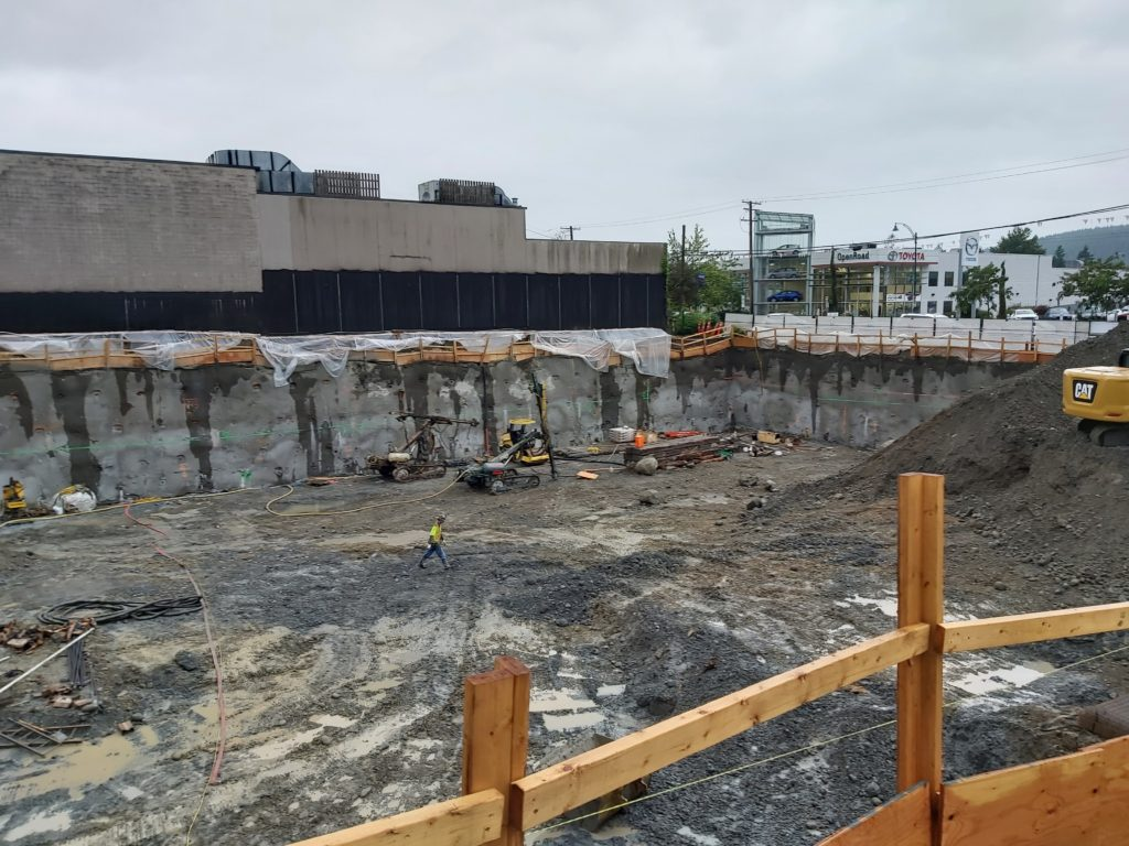 The Moody Rentals - 3131 St. Johns, Port Moody – Excavation and Shoring